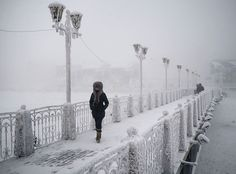 Photographer Travels From Yakutsk To Oymyakon, russia,The Coldest Village On Earth