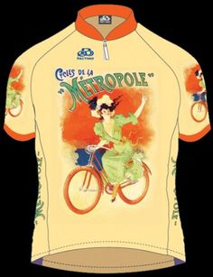 #Women's Cycles Metropole Bicycle Cycling  Jersey Like, Repin, Share, Follow Me! Thanks!  @Stephanie would look stunning in this