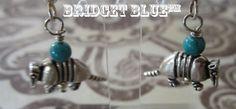 Armadillo Earrings by Bridget Blue™