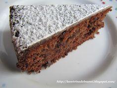 La vetrina del Nanni: Torta Caprese con Granella di Cioccolato