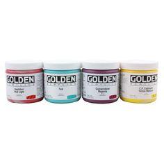 Golden Heavy Body Acrylics 16oz.