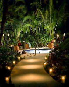 20+ Beautiful Swimming Pool Lighting Ideas For Luxury Home