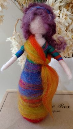 Designed and handmade by Jacqui Thornton from Fantastical ewe #waldorfinspired #dollsofpinterest