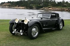 1931 Daimler Double Six 50 Sport Corsica Drophead Coupe back when car names were… Classy Cars, Sexy Cars, Hot Cars, Chevrolet Corvette Stingray, Chevrolet Chevelle, Retro Cars, Vintage Cars, Antique Cars, Vintage Auto