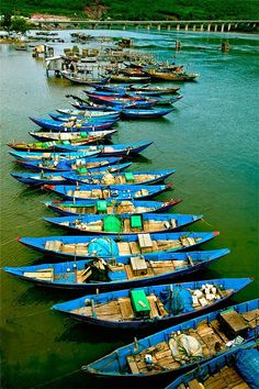 River boats - Vietnam