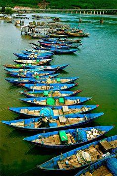 River boats - Vietnam