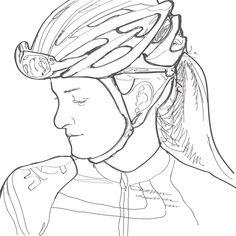 Lizzie Deignan Sketch
