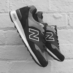 New Balance 577 Black / Carbon - M577K