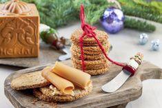 Nikkas havrekjeks Dairy, Scones, Cheese, Snacks, Cookies, Baking, Food, Tapas Food, Biscuits