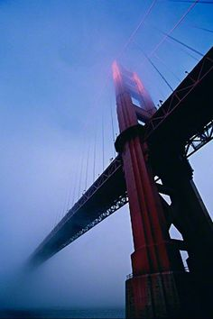Golden Gate Mist - Oceans / Beaches / Harbours - The Work