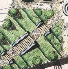 Landscape Gardening Jobs In Tamilnadu each Landscape Architecture Degree Nc except Landscape Plans Architecture their Landscape Design Rendering when Landscape Structures Roller Table Landscape Architecture Degree, Villa Architecture, Landscape Model, Landscape Sketch, Landscape Design Plans, Landscape Drawings, Drawing Architecture, Landscaping Design, Architecture Layout