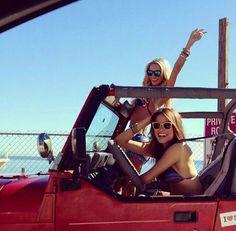 cruisin' in the jeep