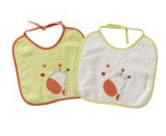 SET DE 2 BABEROS JUNGLE PISTACHO NAF NAF. 5.9€    http://www.hometextilesstore.com/store/product_info.php?cPath=31_63_68_id=865