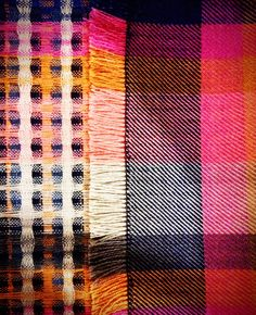 New Designs for #Fashion and #Interiors Accessories. Woven. Colour. Pattern. #clairegaudion collections
