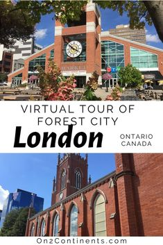 Virtual tour of the Canadian city of London. Explore the Forest City right from your sofa when you are stuck at home or cannot travel. #ldn #ldngem #forestcity #londonON #canada #ontario #localtravel #on2continents #travelblog #familytravelblog #thingstodo #wheretogo #whattosee #519 #519ldn #ldnontario #travelwithkids #local #swontario