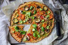 DAIRY FREE CAULIFLOWER PIZZA