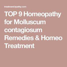 TOP 9 Homeopathy for Molluscum contagiosum Remedies & Homeo Treatment