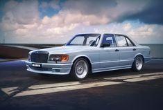 Mercedes W126, Mercedes Benz 500, 3d, History, Vehicles, Model, Collection, Historia