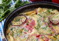 frittata, backpacking breakfast recipes