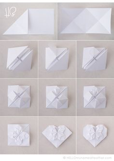 origami corazon