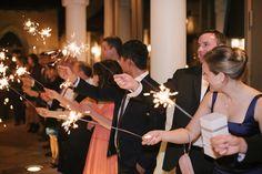 Sparkler Wedding Exit at the Addison! Addison I Do's — The Addison