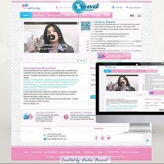 New Web Design for site