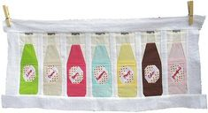 Pop Bottles by Penny Layman from Sew Take a Hike