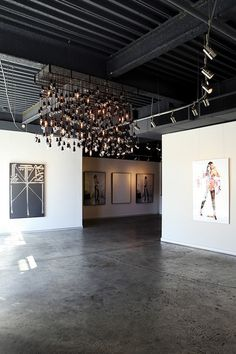 industrial art gallery | Art Gallery Track Lighting