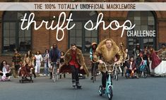 I'm in. How about you??? | Our (Completely Unofficial) Macklemore Thrift Shop Challenge at Young House Love
