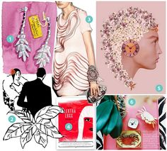 Inspiration board by MaeMae Paperie