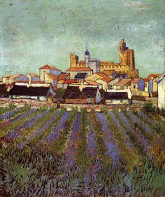 Van Gogh Museum   ... of Saintes-Maries : Vincent van Gogh : Museum Art Images : Museuma