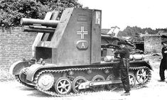 The sIG 33 Bison based on the Panzer 1 chassis was subject to constant break downs due to the heavy weight of the gun taxing the light tank chassis drive train and lack of protection for the crew. It did not carry any of it's own ammunition and relied on another specialized vehicle to supply it.