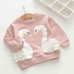 Pretty Little Swan Sweater (3-7)