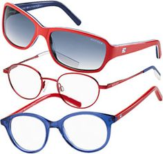 These preppy Tommy Hilfiger frames for kids come in multiple color combinations - AllAboutVision.com