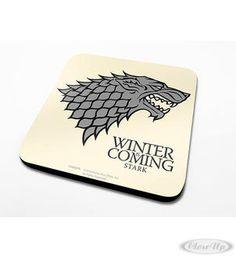Game of Thrones Untersetzerset House Stark Hier bei www.closeup.de