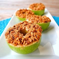 granola apples, my kids love these.  Even took them up to school for class snack