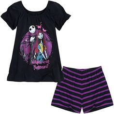 The Nightmare Before Christmas Casual Play Ensemble for Girls -- 2-Pc. @Valerie Speer for Savannah!