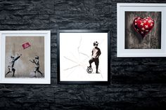 From for a Banksy canvas - choose from 51 designs from Fab Deco Ltd - Deco Matters - save up to Banksy Prints, Banksy Art, Graffiti, Personalized Photo Gifts, Personalised Canvas, Shoulder Massage, Best Shopping Sites, Balloon Flowers, Free Canvas