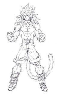 Disegni Da Colorare Di Dragon Ball Gt Goku 4 Livello.Johandyespinoza Johandyespinoza On Pinterest