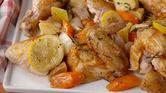 Bundt Pan Roast Chicken  - Delish.com