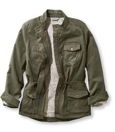 LL Bean Lined Freeport Field Jacket