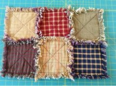 Rag Quilts for Beginners | ... pitcure 1st just to keep you motivated it s a very simple rag or ragg