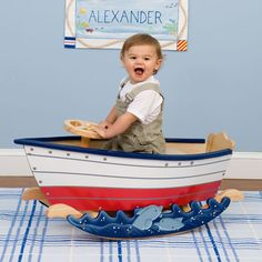 Isn't this too cute? This is what mommy & daddy are getting Wyatt for his 1st Birthday! Goes perfect with his room!