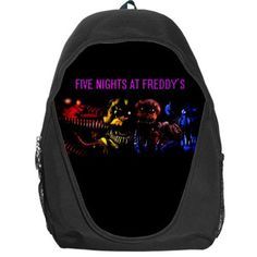 FIVE NIGHTS AT FREDDY'S FNAF 4 Final Chapter Backpack School Bag