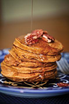 Pumpkin Pancakes - Dining - 417 Magazine - Recipe by my awesome cousin @Bobbilynne Koepke :-)