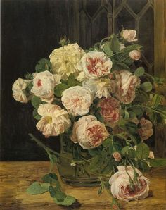 Rosen am Fenster, 1832 Waldmuller, Ferdinand Georg Painting Reproductions