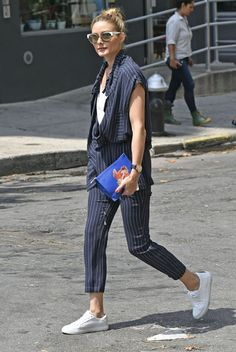 Olivia Palermo Out about in Brooklyn,New York.