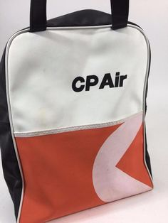 Like to travel in true retro style? Our CP Air Canadian Pacific Airlines Vintage Flight Travel Logo Bag is an authentic original, likely issued to Pilot or Crew Member.