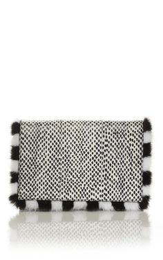 Fendi- Spotted Daisy Clutch