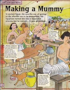 Horrible Histories Magazine # 3 : The Awesome Egyptians Mummy Mania Ancient Egypt Lessons, Ancient Egypt Activities, Ancient Egypt For Kids, History Activities, Teaching History, Egyptian Crafts, Egyptian Mummies, Egypt Games, 6th Grade Social Studies